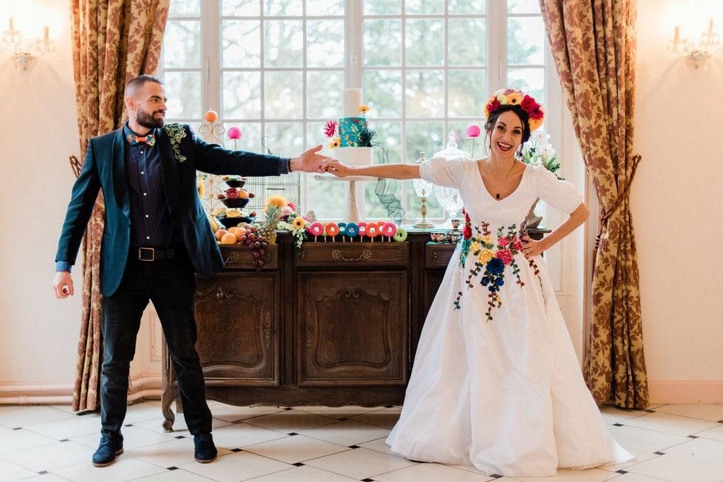 wedding cake mariage frida kahlo