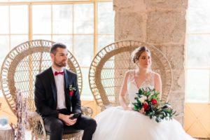 location de mobilier vintage pour mariage à Montargis