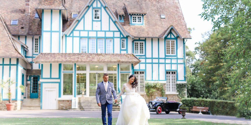 mariage en Seine-et-Marne au manoir des roches